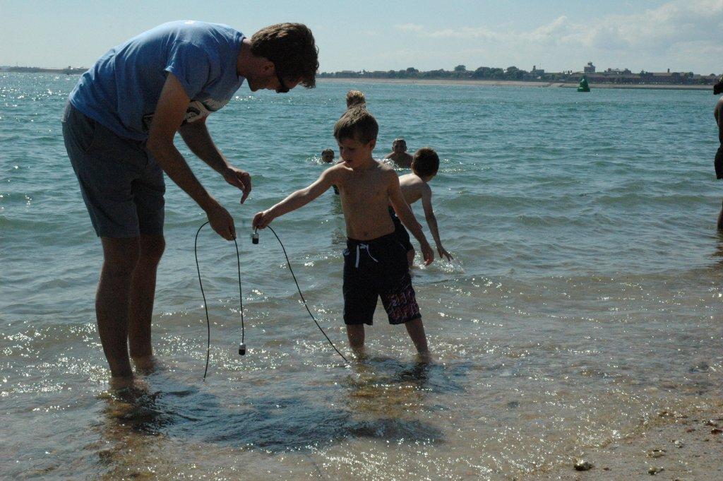 Portsea Sound Hydrophones Beach